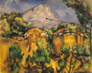 Mont Sainte-Victoire, Seen from the Bibemus Quarry